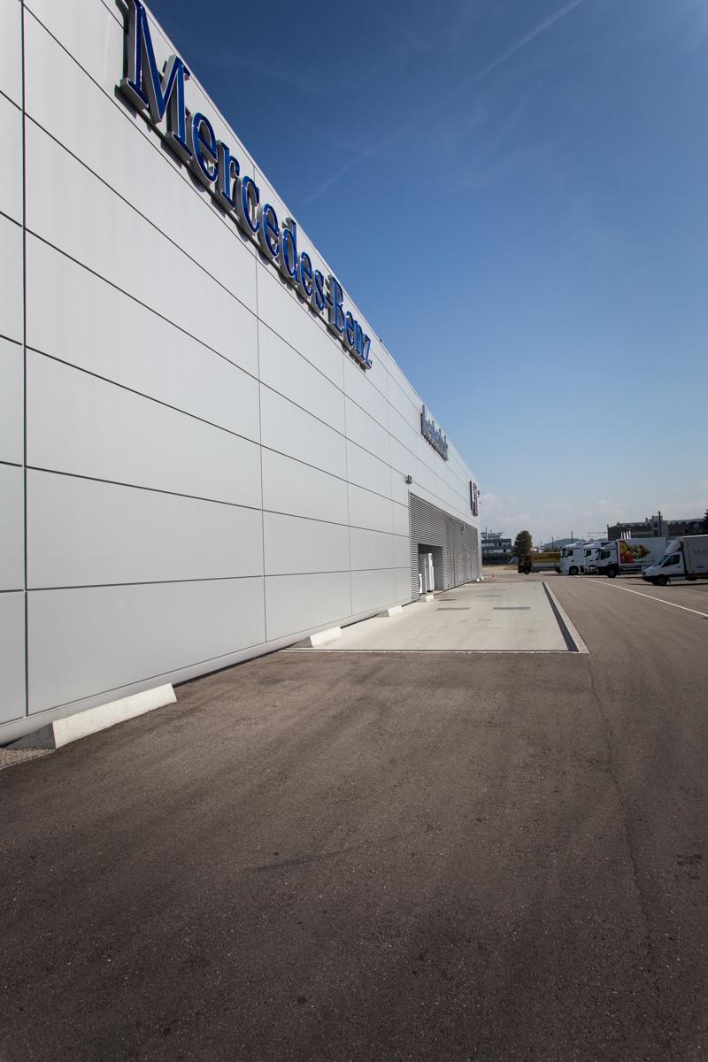 Kestenholz Mercedes Truck Center Pratteln BL