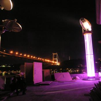 Lichtleitsytsem Istanbul TUR