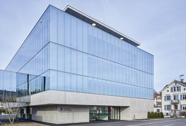 Thurgauer Kantonalbank, Neubau Optima, Weinfelden/CH